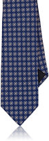 Barneys New York MEN'S FLORAL-EMBROIDERED SILK FAILLE NECKTIE