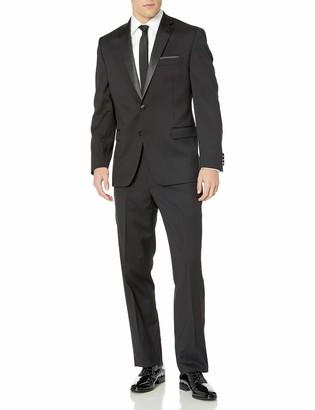 Calvin Klein Men's Modern Fit 100% Wool Tuxedo