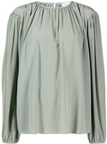Lemaire pleated front blouse