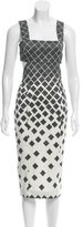 Suno Geometric Print Cutout Dress w/ Tags