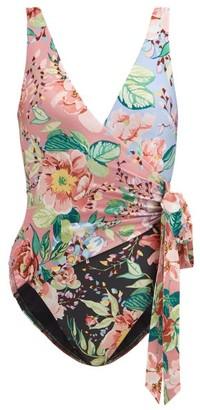 Zimmermann Bellitude Floral-print Swimsuit - Multi