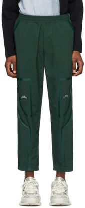A-Cold-Wall* Green Taped Track Pants