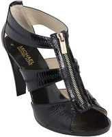 MICHAEL Michael Kors Berkley Patent Leather T-Strap Sandals
