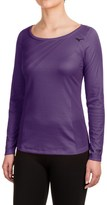 Mizuno Breath Thermo® Body Map Shirt - Crew, Long Sleeve (For Women)