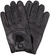 Riparo Motorsports Riparo Women's Genuine Leather Half Mesh Driving Motorcycle Gloves