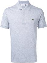 Lacoste logo patch polo shirt - men - Cotton - 3