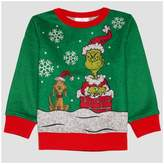 Dr. Seuss Toddler Boys' How the Grinch Stole Christmas Sweatshirt - Pepper