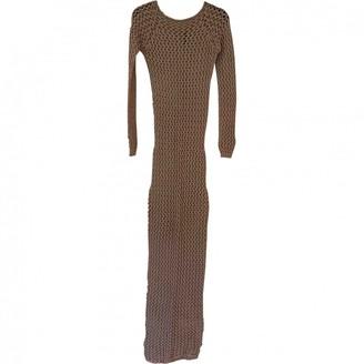 Balmain Beige Cotton Dress for Women