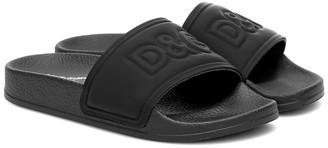 Dolce & Gabbana Leather slides