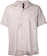 Factotum short sleeve open collar shirt - men - Cotton/Lyocell - 48