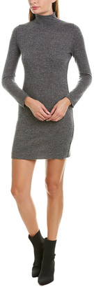 Qi Mock Neck Cashmere Sweaterdress