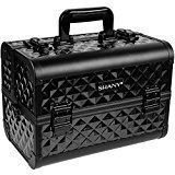 Black Diamond SHANY Premier Fantasy Collection Makeup Artists Cosmetics Train Case