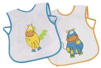 Camilla And Marc Bolin Bolon - 1372827012200 Maxi - Pack of 2 Bibs - Horse and Cow Print 27x33 cm