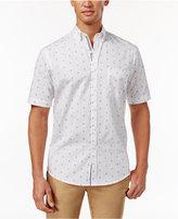 Club Room Men's Anchor-Dot Print Shirt, Only at Macy's