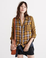 Abercrombie & Fitch Mixed Plaid Shirt
