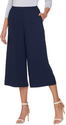 Linea By Louis Dell'olio by Louis Dell'Olio Regular Gauze Crepe Pull-on Pants