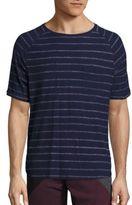 Madison Supply Striped Cotton T-Shirt