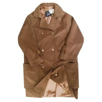 Burberry Brown Wool Coat for Women Vintage