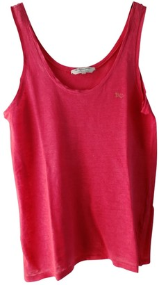 Berangere Claire Claire Red Linen Top for Women