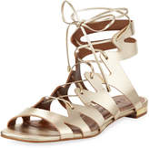 Carrano Belina Lace-Up Sandal, Gold