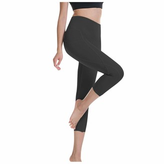 Litale Women's Leggings High Waisted Sweatpants Tummy Control Yoga Pants Sport Workout Running Pants