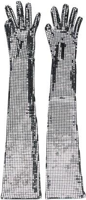 MM6 MAISON MARGIELA Sequin-Embellished Long Gloves