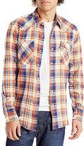 Levi'S Barstow Western Shirt Burnt Ochre