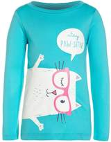 Carter's CAT PAWSITIVE Long sleeved top turquoise