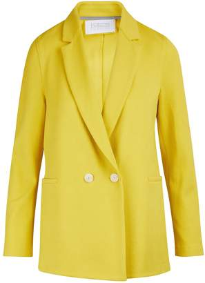 Harris Wharf London Boxy cotton blazer jacket