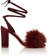 Loeffler Randall Women's Nicolette Sandals-BURGUNDY