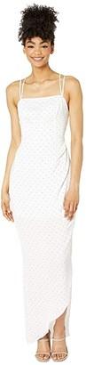 BCBGeneration Evening Strappy Dress - TQI6185701 (Optic White) Women's Dress