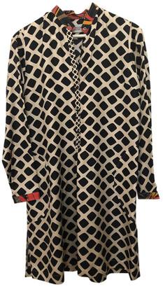 La Prestic Ouiston Multicolour Silk Dresses