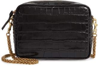 Clare Vivier Embossed Leather Crossbody Bag