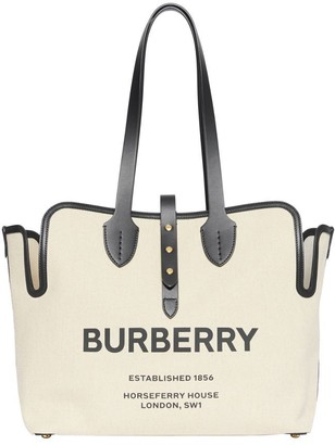 Burberry The Medium Soft Cotton Canvas Belt Bag