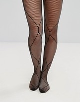 Asos Multi Scale Fishnet Tights