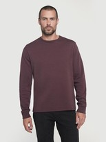 Frame Long Sleeve Quilted Crew