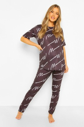 boohoo Maternity Mama Pyjama Trouser Set