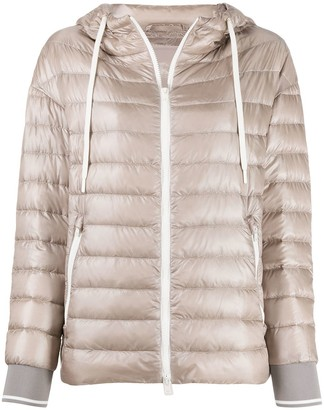 Herno Quilted-Down Hooded Jacket