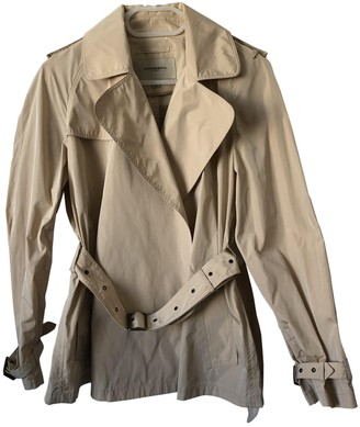 Burberry Camel Polyester Trench coats