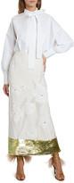 Valentino Embroidered Midi Dress