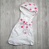 Baby Essentials aden + anais Pink Star Bath Wrap