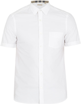 Burberry Reagan short-sleeved cotton shirt