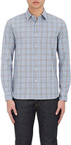 Barneys New York MEN'S PLAID COTTON DRESS SHIRT
