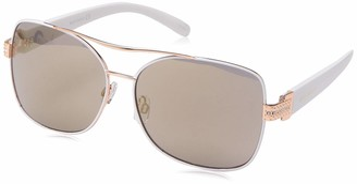 Rocawear Women's R3290 Rgdwh Non-Polarized Iridium Aviator Sunglasses