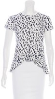 Proenza Schouler Short Sleeve Knit T-Shirt w/ Tags