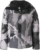 Canada Goose printed padded jacket