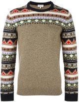 Paul & Joe geometric pattern pullover
