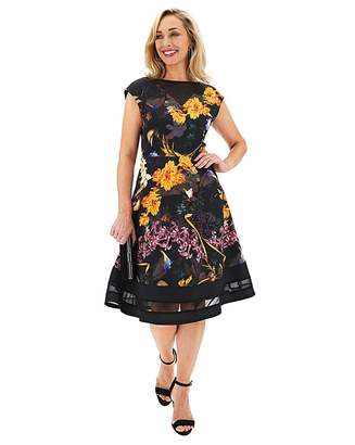 N. Joanna Hope Scuba Fit Flare Dress