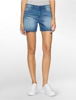 Calvin Klein Turk Blue Wash Weekend Denim Shorts