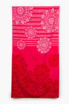 Desigual Romantic Patch Bath Towel